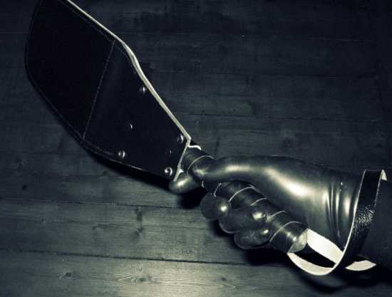 femdom, bdsm, kink, mistress, toys, pain, slave, submissive, leather glove, hand, paddle