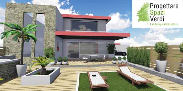 Progettare spazi verdi progettazione online giardini e for Progettazione online