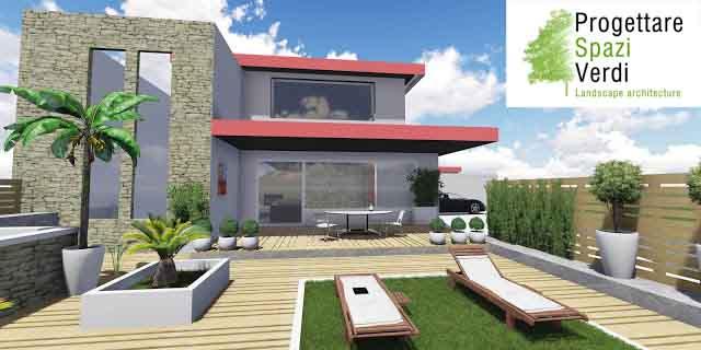 Progettare spazi verdi for Progettare un terrazzo giardino
