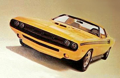 1969 Dodge Challenger Yellow Jacket Driver Madness