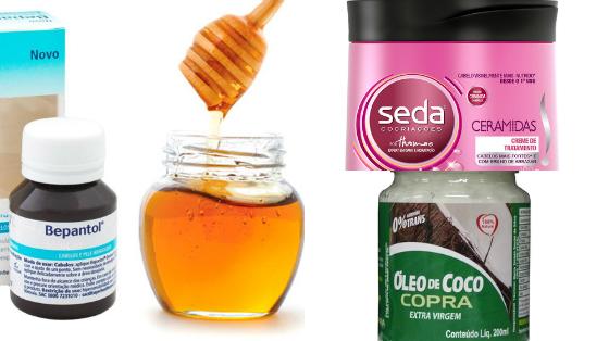 tratamento com mel cabelos porosos