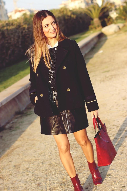 bf21a0b5f El blog de Renée: Como combinar una falda mini con cremallera