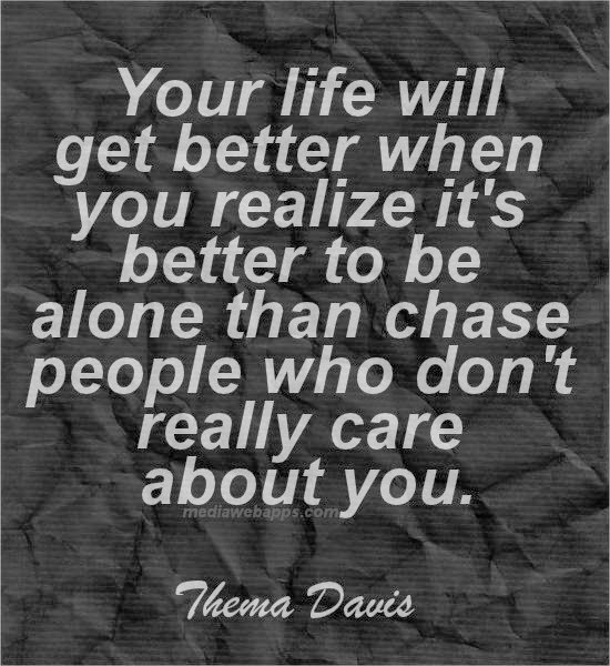 Past Relationship Quotes: Alone Quotes-10 Awesome Alone