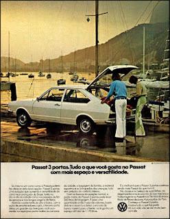propaganda VW Passat - 1976, propaganda Volkswagen - 1976, vw anos 70, carros Volkswagen década de 70, anos 70; carro antigo Volks, década de 70, Oswaldo Hernandez, Passat 76,