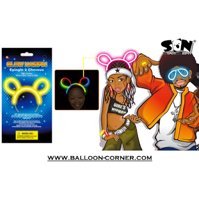 Glow Hairpin / Bando Fosfor