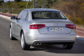 New audi a4 rear view