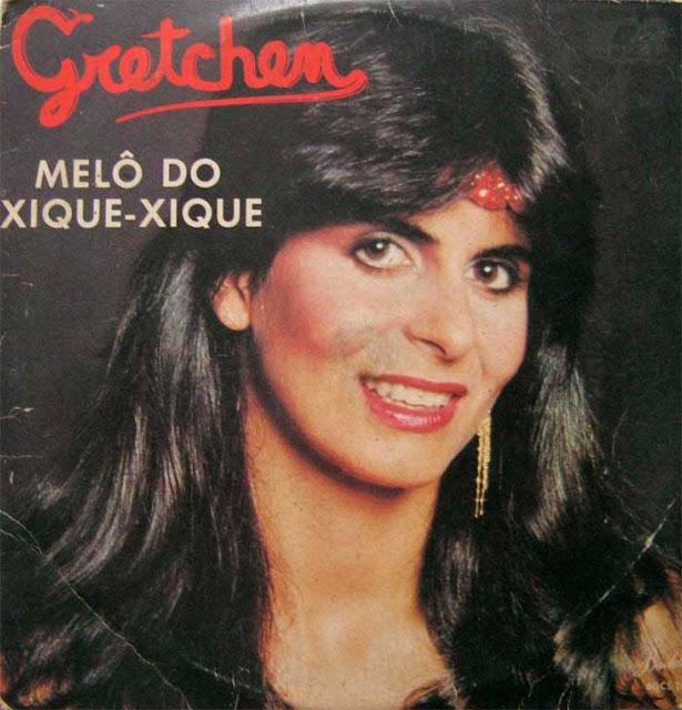 Gretchen jovem, capa Disco