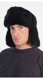 Rex Fur Hat Russian Style
