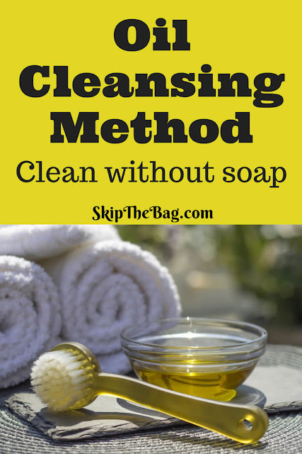 Oil Cleansing Method. A way of washing your face without soap. DIY and easy. My face has never looked so good!