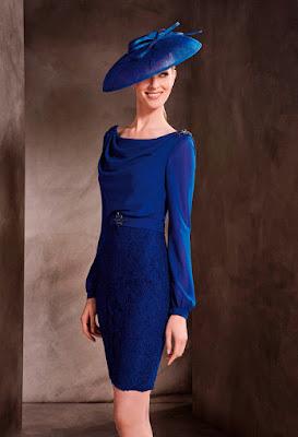 Vestidos de Fiesta Azules para Madrinas de Boda