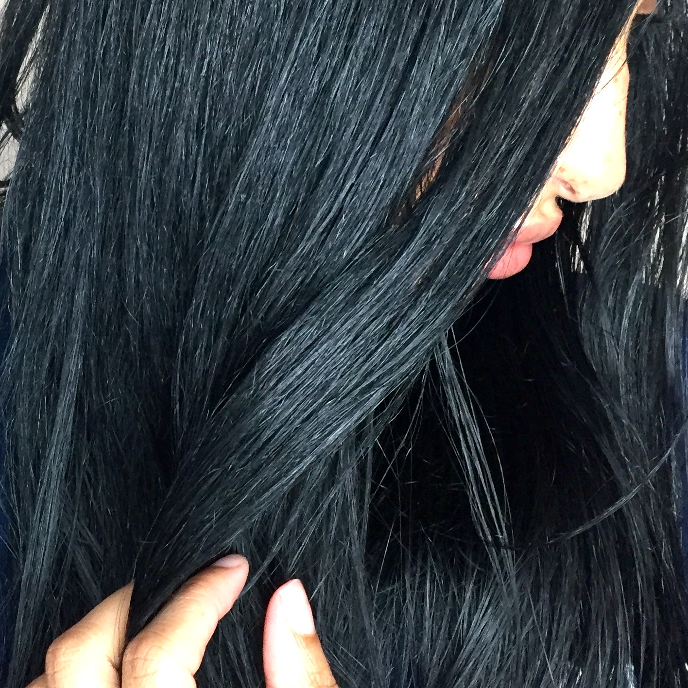 Dying My Hair Cosmic Blue With Schwarzkopf Live Only In Chanelle S
