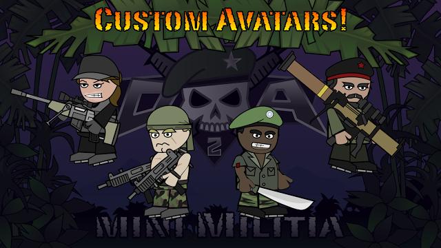 لعبة Mini militia متهكرة اخر اصدار للاندريد