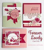 Stampin' Up! Forever Lovely Card Kit ~ 2019 Occasions Catalog ~ www.juliedavison.com