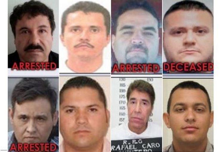Estos son los seis cárteles mexicanos en la mira de la DEA