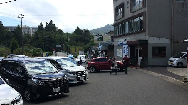 高千穂峡第2駐車場