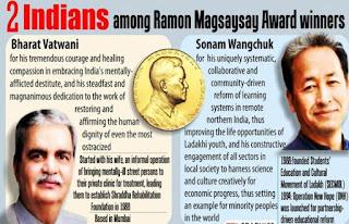 2018 Ramon Magsaysay Award :Bharat Vatwani & Sonam