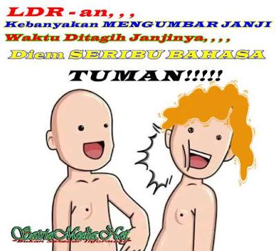 Meme Tuman Ingkar Janji