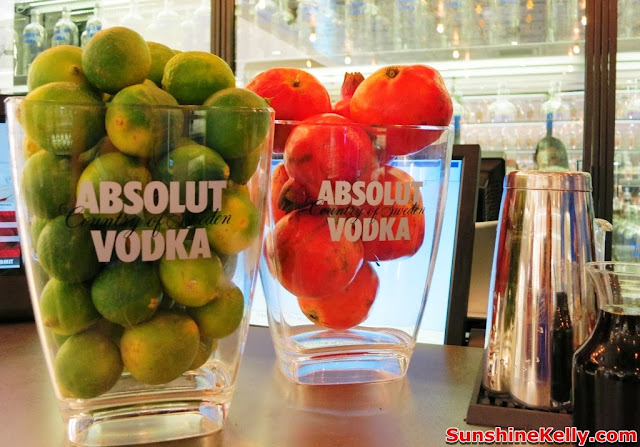 absolut, World First ABSOLUT Brand Store, KLIA, absolut hibiskus,promeganate, lime ginger