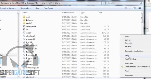 Paste File javanya