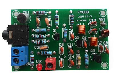 เครื่องส่ง FM 76-110 MHz 3 ทรานซิสเตอร์