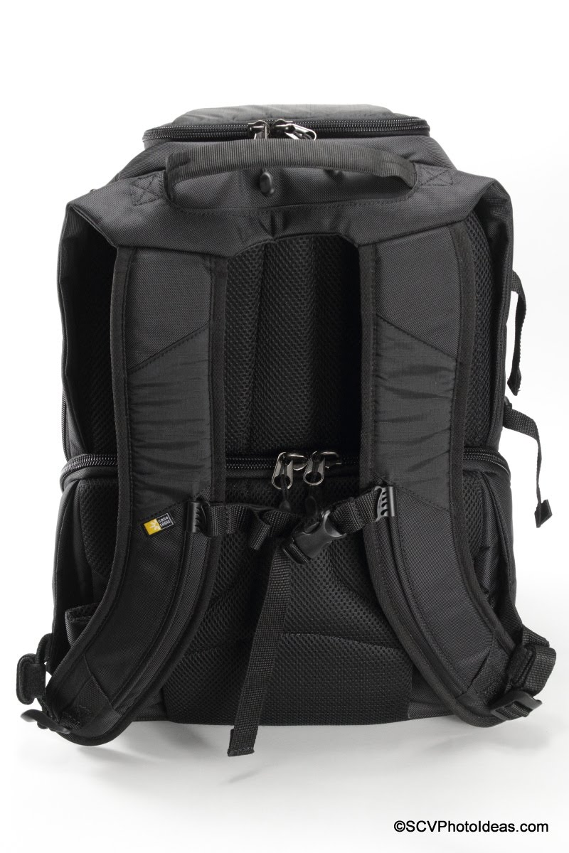 Case Logic DSB-103 rear view - shoulder straps