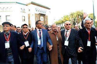 اعلان اضراب عام من النقابات الاربع الكبرى بالمغرب