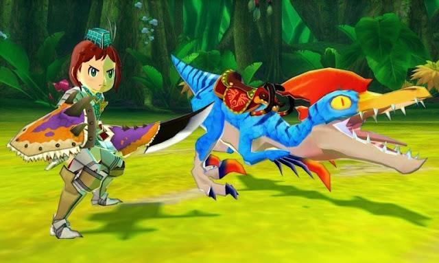 الكشف عن موعد إصدار لعبة Monster Hunter Stories و الإعلان عن ديمو !