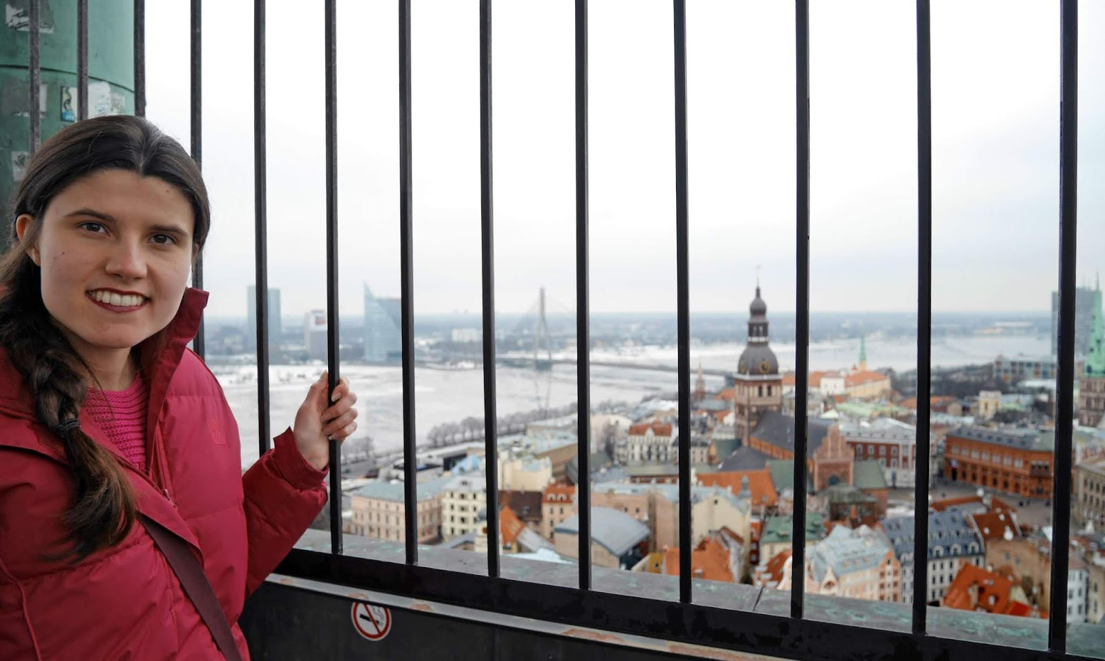 Views from St Peter's Church tower in Riga, Latvia - Kat Last