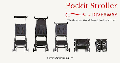 Pockit Stroller Giveaway-US Only