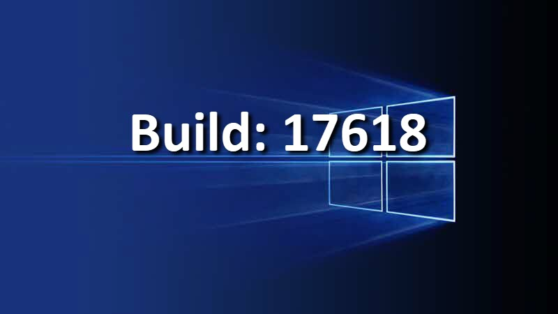 Windows Insiders Preview Build 17618 for Skip Ahead (Redstone 5)