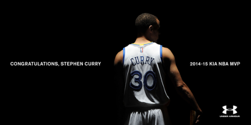 Under Armour celebra su primer MVP NBA