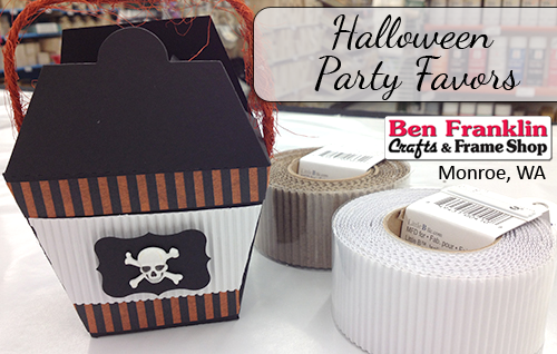 Halloween Party Favor Box