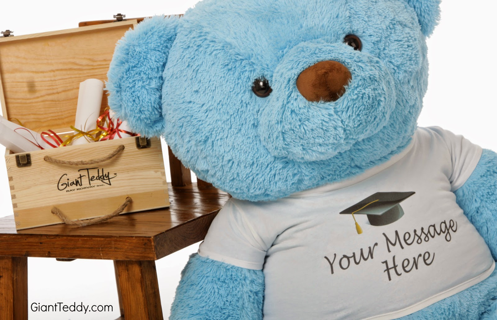 We Have Personalized Graduation Teddy Bears Who Will Give Your Own Special  3 5 Word Message To Your Special Graduate.