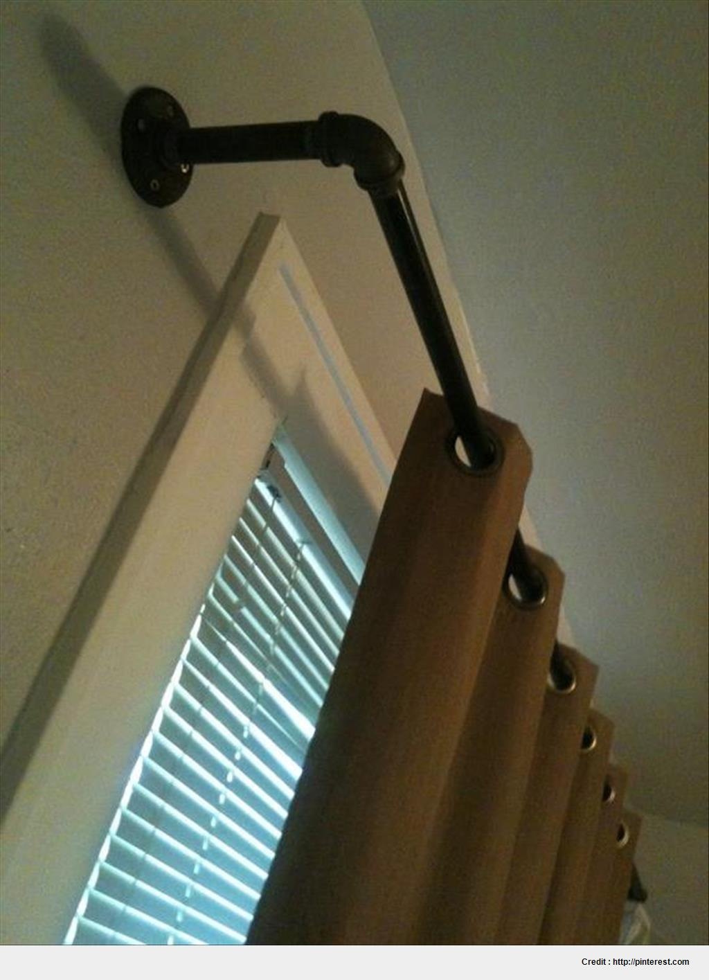 Best Black Iron Curtain Rod image