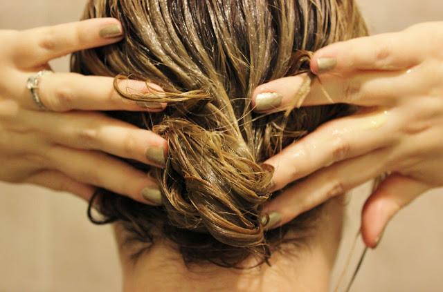 ماسك لتنعيم الشعر