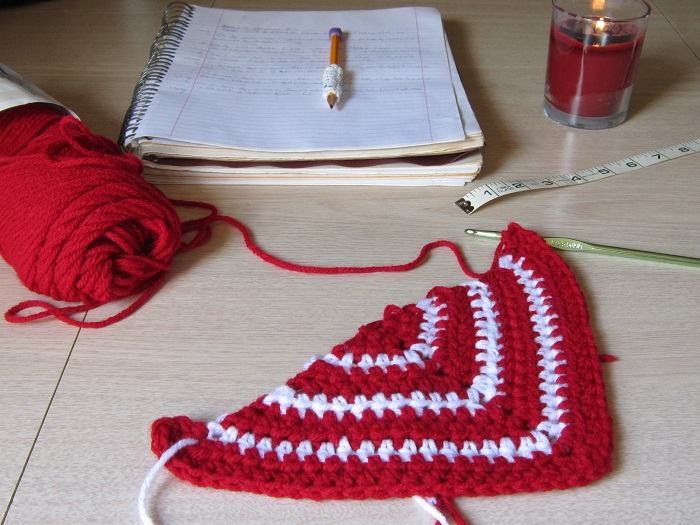 crochet, WIP, work in progress