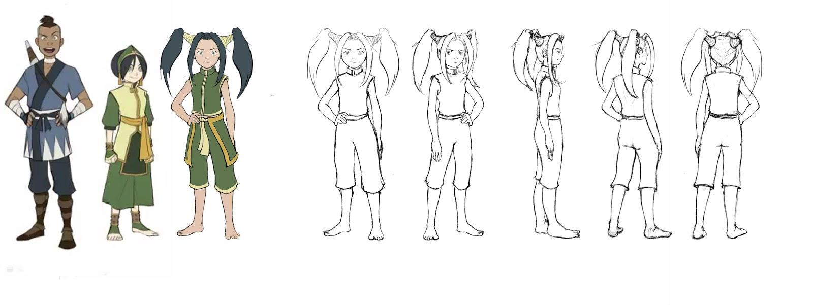 avatar character design gamo illustrations: avatar character design: shria edit +