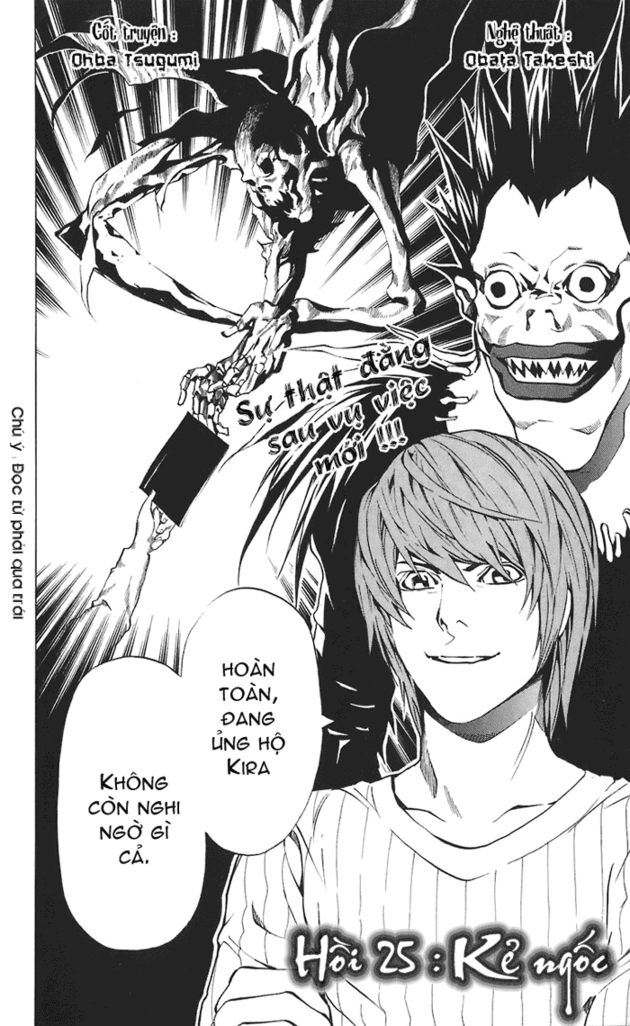 Death Note chapter 025 trang 3