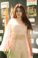 Nidhi Subbaiah Glamorous Pics in Transparent Peachy Gown at IIFA Utsavam Awards 013.JPG