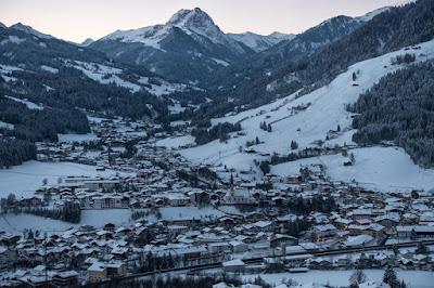 Ausblick vom Sonnberg aufs Dorf