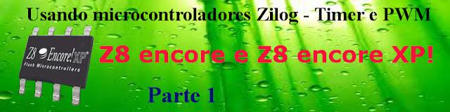 Mostra como usar o microcontrolador Zilog