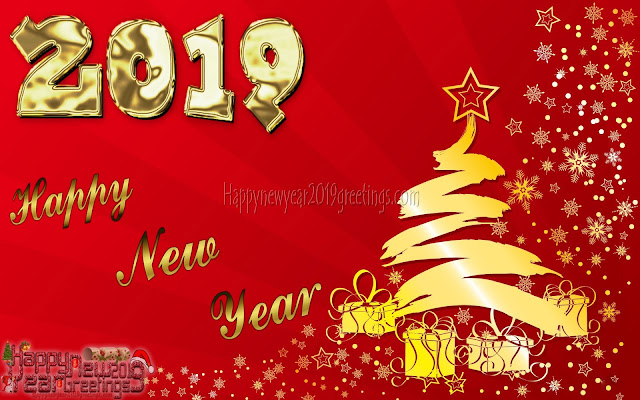 Happy New Year 2019 Golden Backgrounds Download Free - New Year 2019 Golden HD Backgrounds Download For Desktop