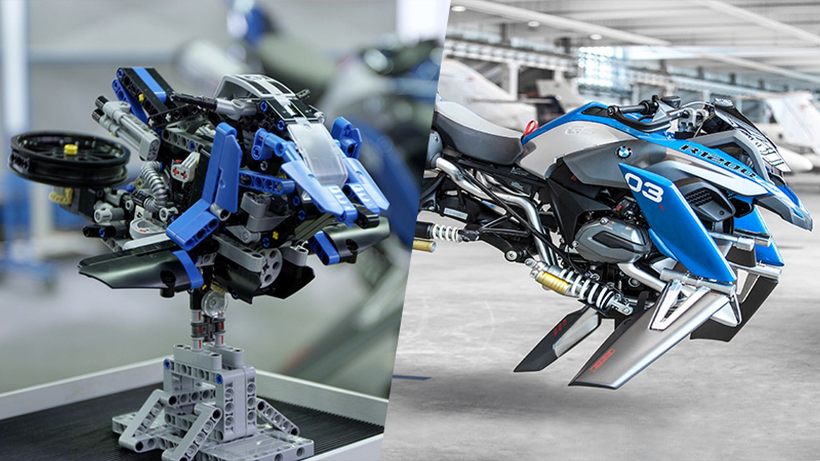 bmw creates fantastic flying motorcycle concept inspiredlego model