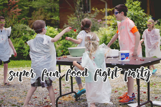 Food Fight Party | Tips and Pics