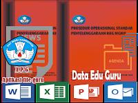 Administrasi Guru POS KKG MGMP Format Words