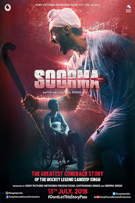 Soorma 2018 Hindi 720p WEB-DL 600Mb HEVC x265