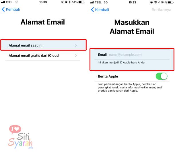 Apakah iCloud bisa menggunakan gmail