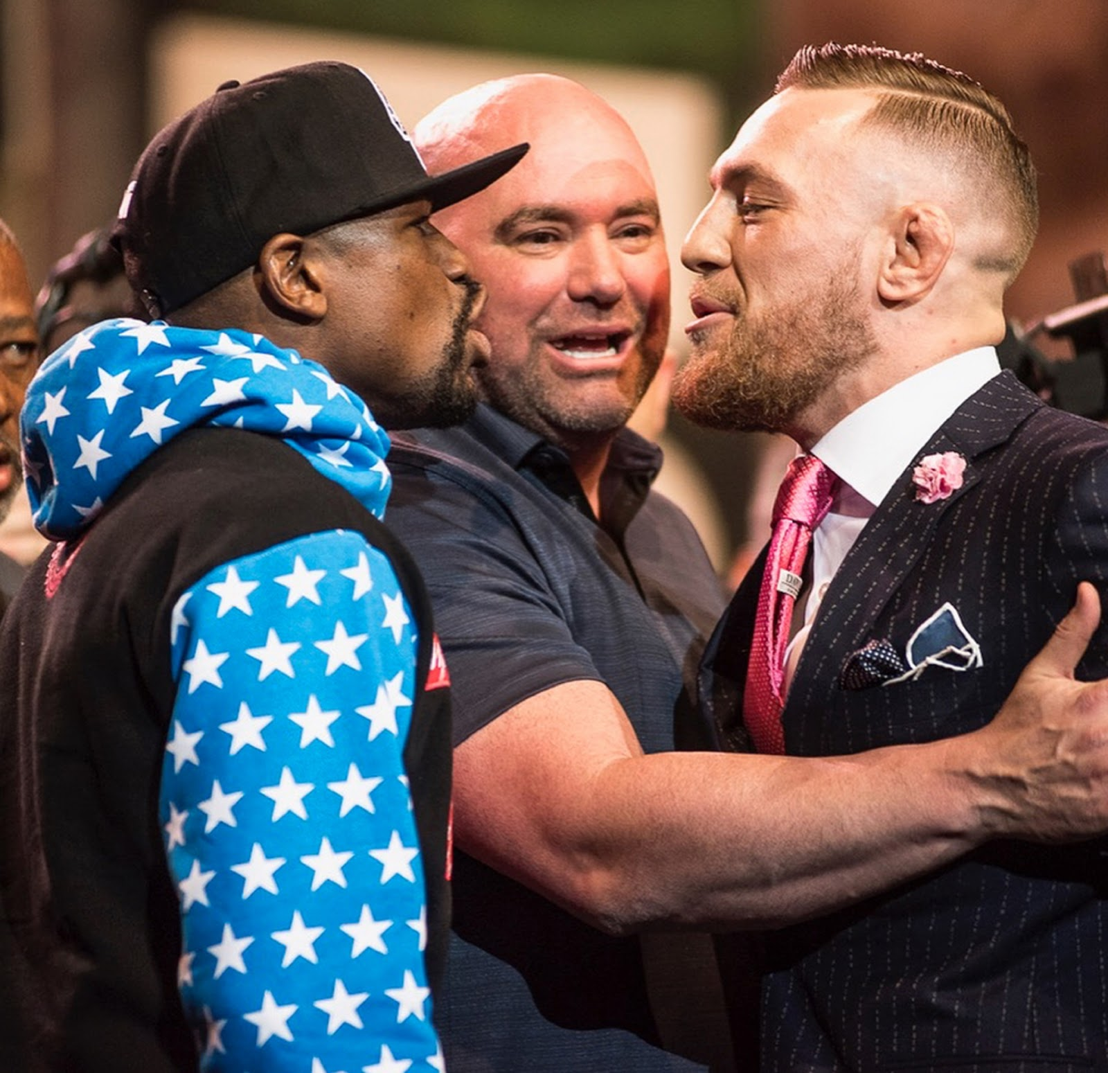 FLOYD MAYWEATHER VS. CONOR MCGREGOR 10