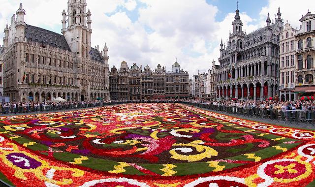 Viagem de trem de Amsterdã à Bruxelas