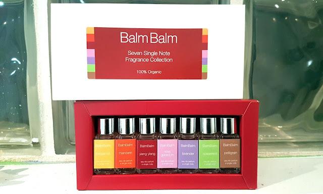 Balm Balm organic perfume set